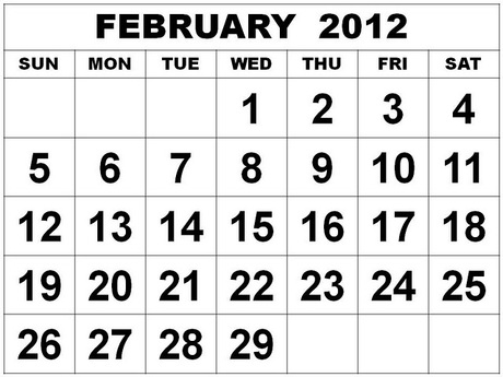 eb722950f38 February 2012 Monthly Expenses